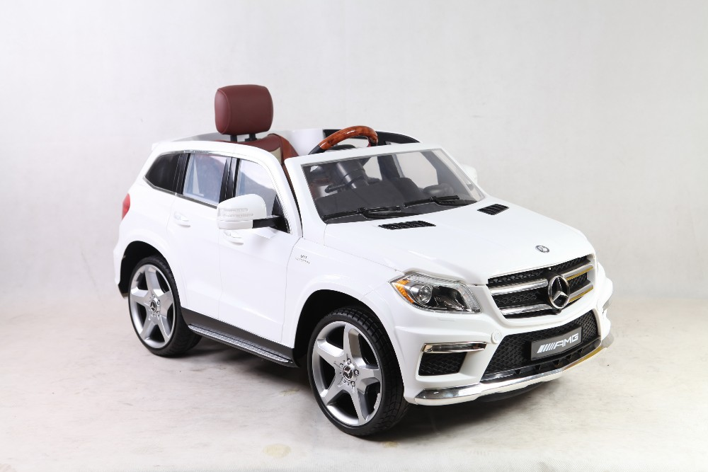 New licensed mercedes benz gl63 ride on car baby remote for Mercedes benz toddler car