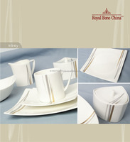 BONE CHINA DINNERWARE BY ROYAL PORCELAIN THAILAND: INFINITY (EXTREME)