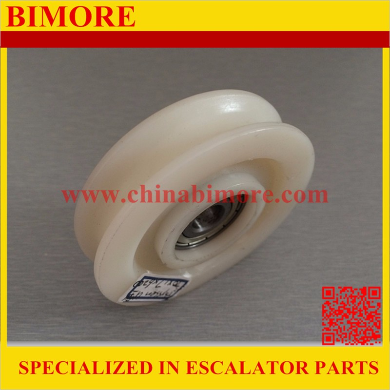 Elevator Rope Rollers 70*17mm Bearing 6200-2Z