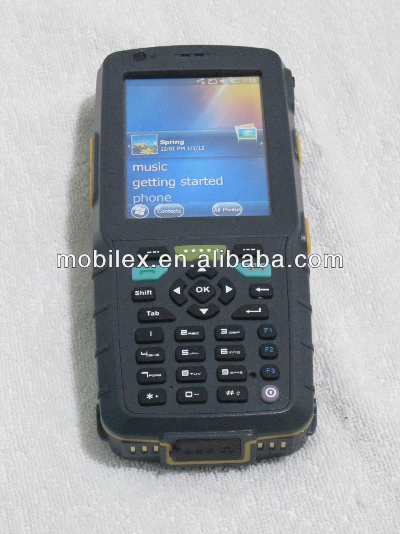 Windows/Android Mobile Biometric device with fingerprint,barcode scanner,3G(MX8880)