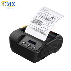 CMX8003 mobile USB bluetooth barcode sticker label printer with LCD screen