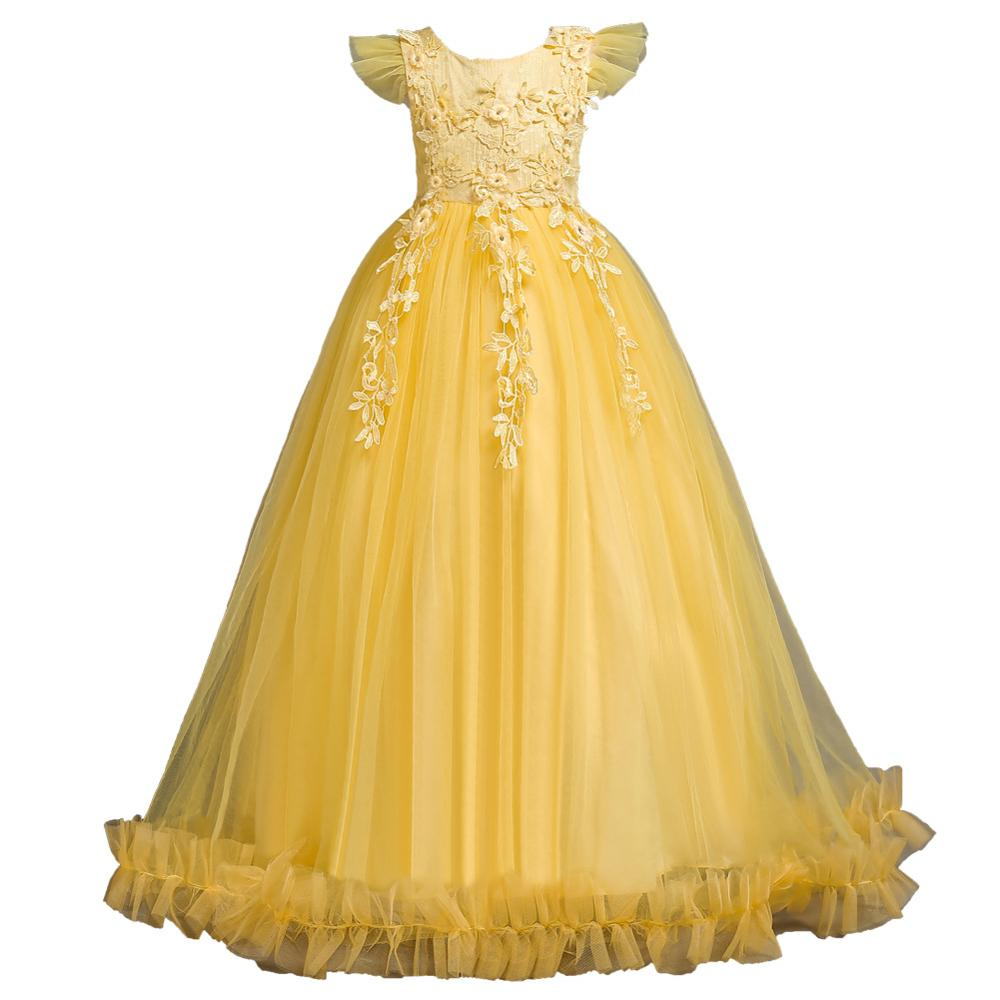 Fairytale Costume Kid Baby Girl Princess Dress Birthday Fancy Skirt Outfit Party
