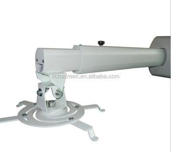 Retractable Arm Design 120cm Ceiling Ultra Short Throw Projector Mount