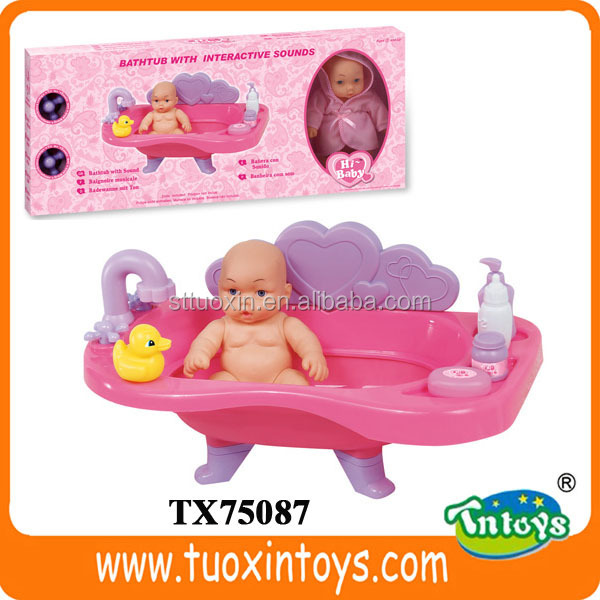 Set Juguetes De Baño Jane:Ciudad de juguete de baño de tina, Baby doll bathtub, Juguete