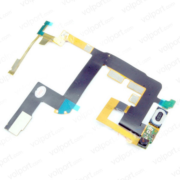 For Motorola Droid 3 XT862 Main LCD Slide Flex Ribbon Cable + Front Camera + Speaker