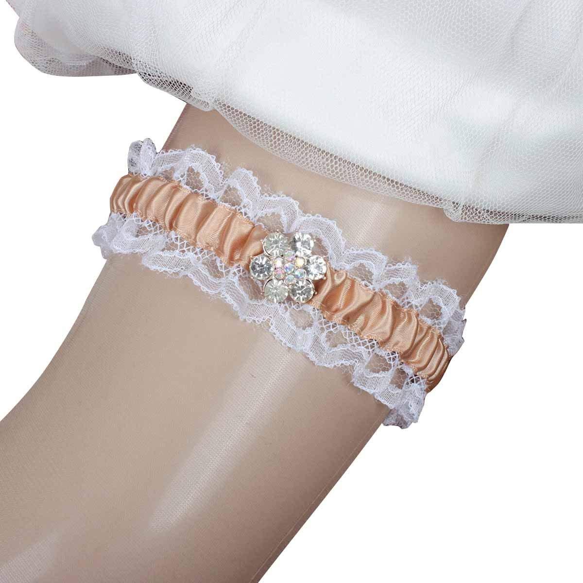 9ee806d2fde Camo Keepsake Garter. Get Quotations · IUMN Wedding Garters For Bride With  Rhinestones Stretch Prom Garter (15-23inch)
