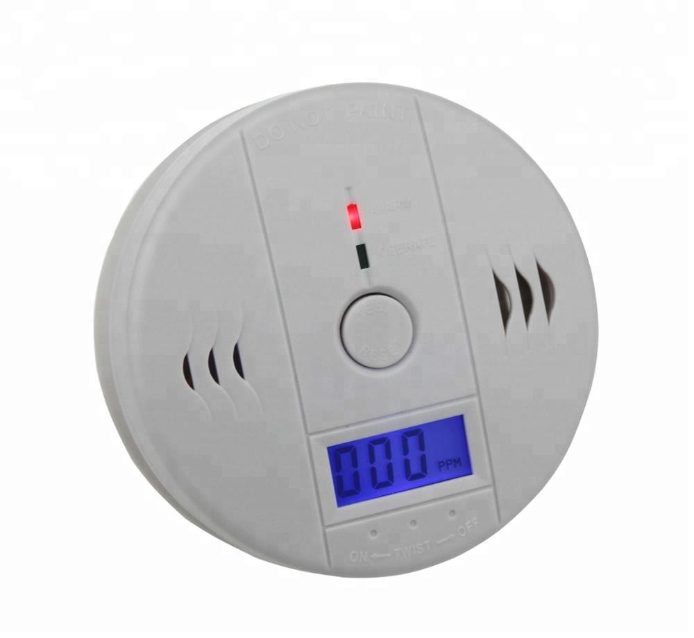 Standalone CO gas detector with LCD display, personal Carbon Monoxide Detector <strong>Alarm</strong>