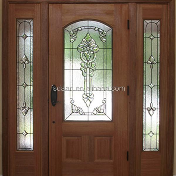 Main Door Design Villa Entrance Wood Door - Buy Main Entrance Wooden ...