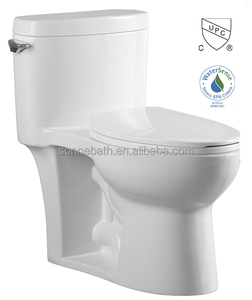 cUPC WaterSense New Design Cheap One Piece Ceramic Toilet SA-2150