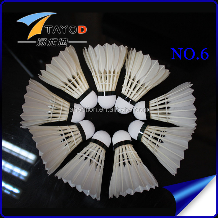 N6 Shuttlecock Duck Feather Badminton Shuttlecock Sale
