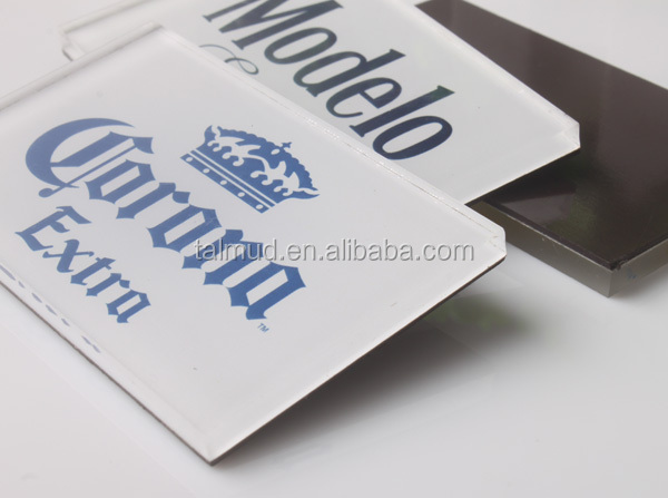Printed Laser Cutting Special Shape Acrylic Magnet
