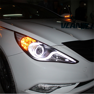 VLAND manufacturer for Car Headlight for Sonata LED Head light for 2010 2011 2012 2013 2014 2015 for Sonata Head lamp