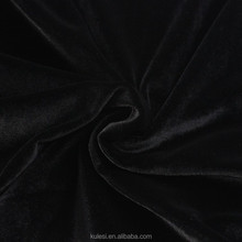 Wholesale 50D*50D DTY polyester spandex velour fabric 220/250GSM warp knit warp brushed and smooth for suits