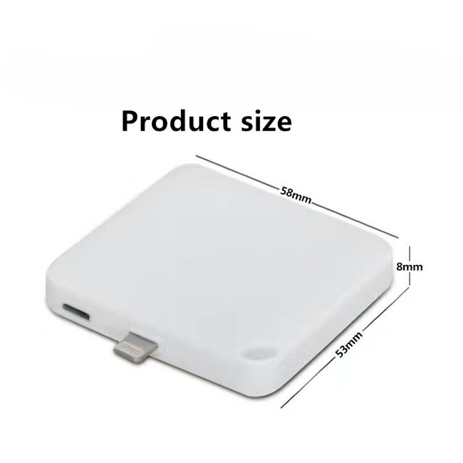 Portable Charger 1000mah Rechargeable Power Bank For iPhone Samsung Mobile Power