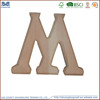 high quality paint color wooden art minds wood alphabet letters for wall
