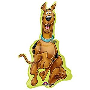 "Single Source Party Supplies - 38"" Scooby Doo Mylar Foil Balloon"
