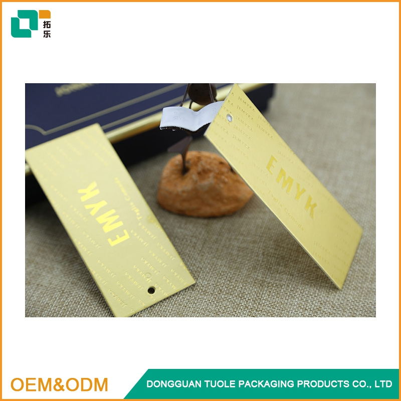 Clothing name tags label printing card paper tag design
