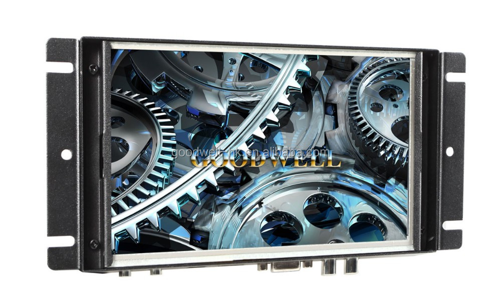 China Supplier New 7 Inch 16:9 Touch HDMI Monitor Open Frame Metal Frame for Industry Application