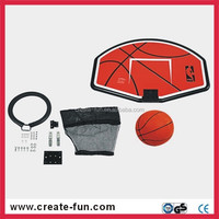 CreateFun Durable colorful Quality Easy assamble Steel and plastic trampoline parts basketball hoop