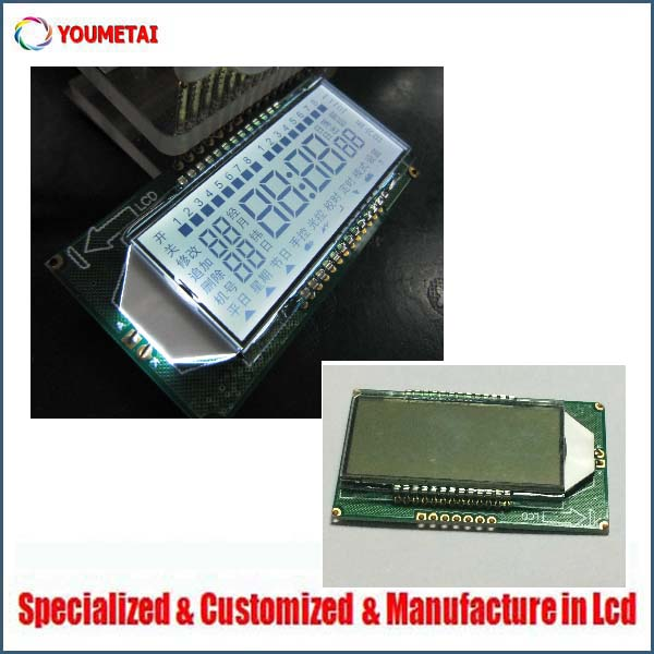china factory supply custom low cost TN type 50-pin lcd display