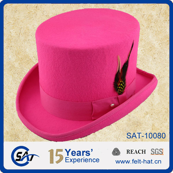 Men S Wool Felt Top Hats In Many Colors View Top Hat Sat Product Details From Shijiazhuang Aaron Trading Co Ltd On Alibaba Com