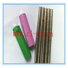 NdFeB Round Permanent Magnet For Battery button top