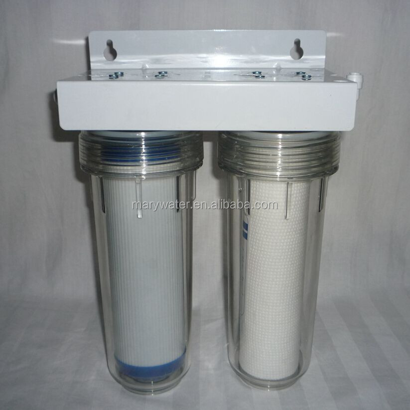 Under Sink Pp Activated Carbon 2 Stage Water Filter With ...