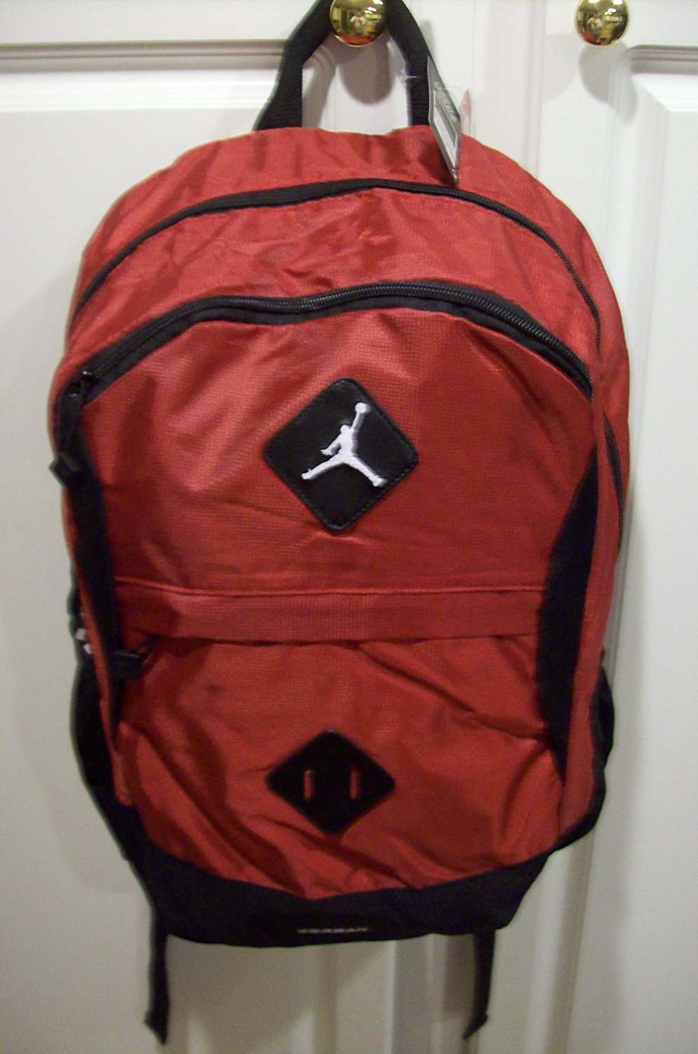 7c09334767 Get Quotations · Nike Jordan Red Black Jumpman Laptop Backpack