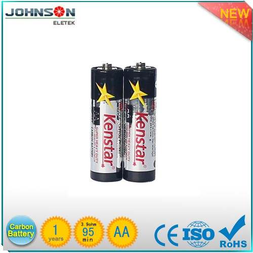 the factory outlet the 1.5v zinc carbon r6 aa dry battery,made in zhejiang china