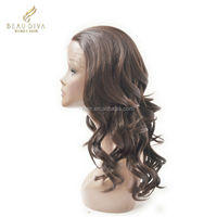 LiBeier hair In stock wholesale font lace wig , brazilian hair lace front wig