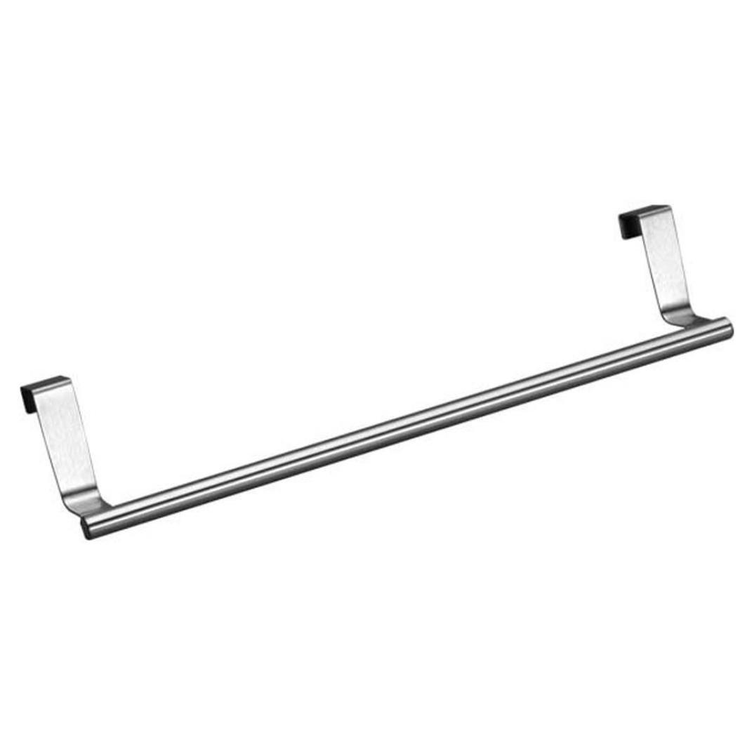 Creazy Over Door Towel Rack Bar Hanging Holder Bathroom Kitchen Cabinet Shelf Rack