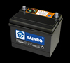 Professionally-Producing 12V50AH Lead Acid Dry Charged Car Battery for Starting from sainbo group