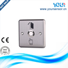 Hot sale & Cheap price automatic door Stainless steel Small push button exit Metal (YS404)