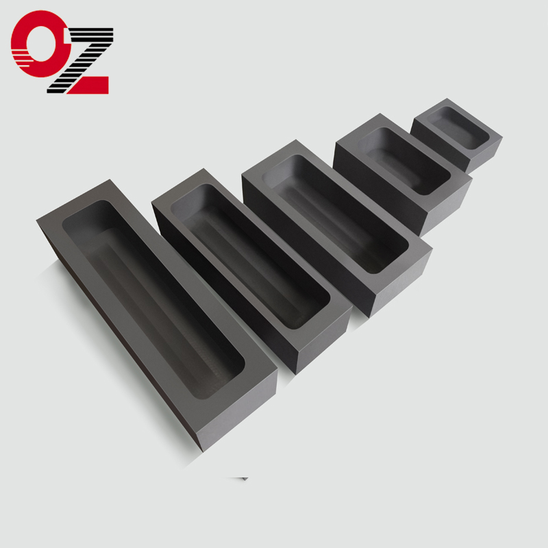 High pure silver gold casting graphite mould