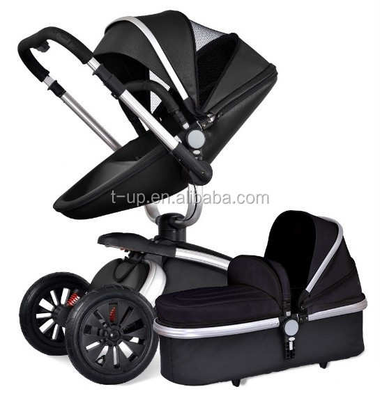 2017 cool baby strollers,baby stroller car seat kids with 3 adjustable backrest, baby carry cot folding stroller
