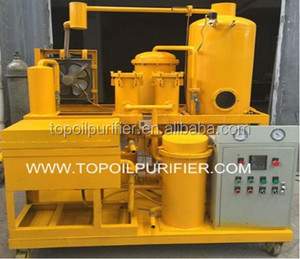 WVO Cleaned to Biodiesel Usage Used Waste Vegetable Oil Purifying Machine,KFC Oil Filter Machine