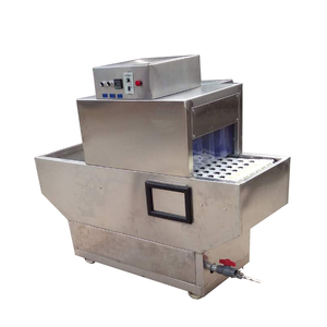 Professional Restaurant Automatic Rack Conveyor Dishwasher Glass/Dish Washing Machine with Dryer