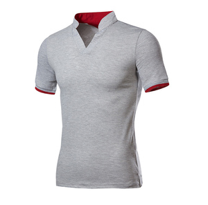 High quality custom logo slim fit new design polo t shirt