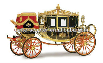 Royal Luxury Pumpkin Horse And Carriage