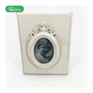 Wooden standing latest design mini girl gifts picture photo frame