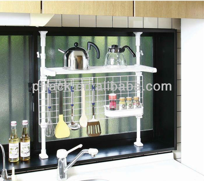 Kitchen ware hanging stacking wire shelf PF-E435