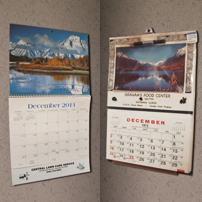 Custom Promotional Printing  Months Wall Calendar  Buy