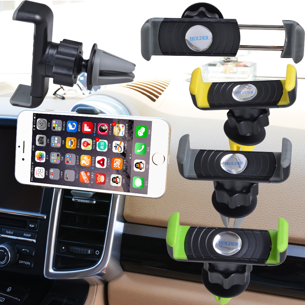 separation shoes ab5a2 35d44 Universal Car Air Vent Cell Phone Holder In Car Mount For Your Iphone  6/Plus 5s 4 Mobile Phones GPS Accessories Stand Holders