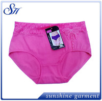 hot selling high quality wholesale fashional 100 cotton hot women panty