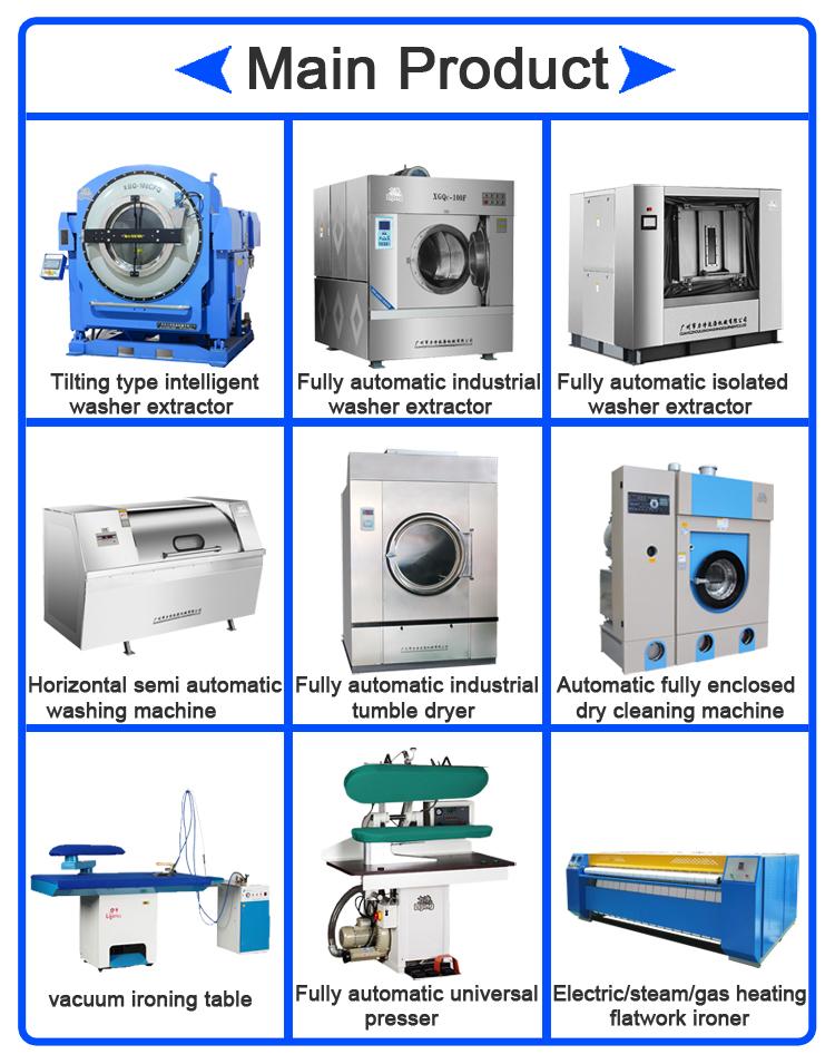 Semi Automatische Commerciële Industriële Wasserij Stoomstrijkijzer Pers Machine Kleren Strijken Machine