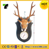 most durable clock attached moose wall ornament