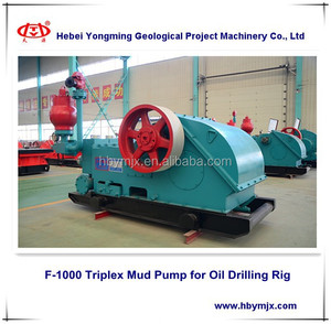 F-1000 Triplex Mud Pump for Oil Drilling Rig