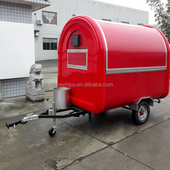2018 Hot Sell Mobile Fried Chicken Beer Snack Popcorn Trailer For