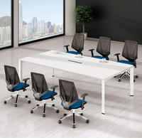 Conference Room Negotiation Boardroom Table for project