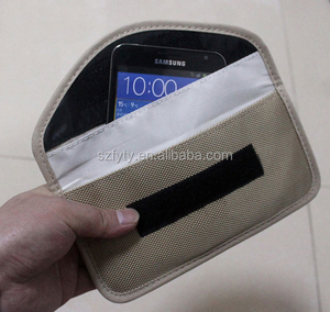 RFID Signal Shielding Pouch Wallet Case for Cell Phone